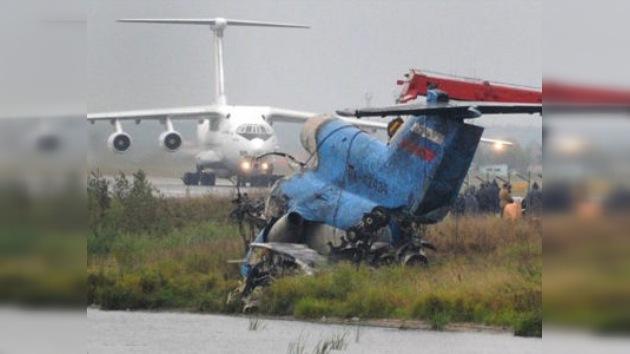 La falta de velocidad en el despegue pudo causar la tragedia en Yaroslavl