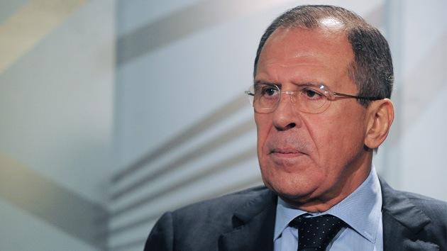 Lavrov: Rusia no interferirá en el conflicto armado en Siria bajo ninguna circunstancia