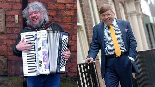 Un vagabundo británico se convierte en estrella de la radio por su talento musical