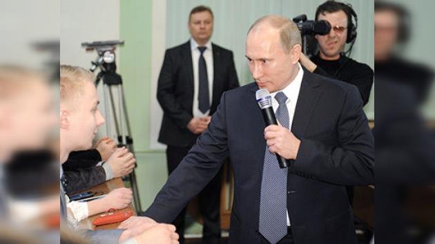 Putin aprueba la propuesta de la Liga de Electores de Rusia