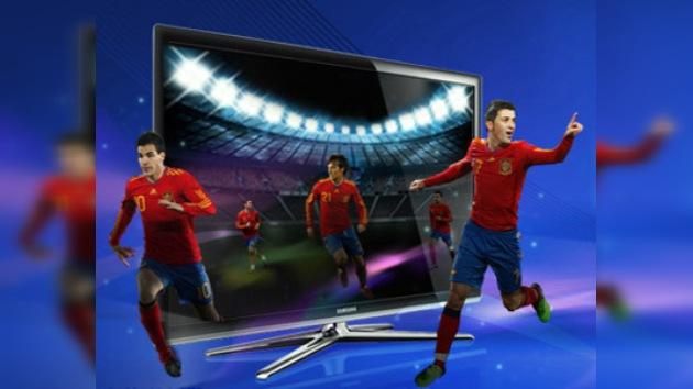 Televisores 3D fabricados en Rusia