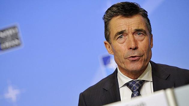 Rasmussen: La OTAN no va a participar en una intervención militar en el conflicto de Siria