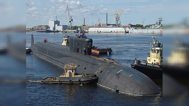 Prueban nuevo submarino nuclear ruso
