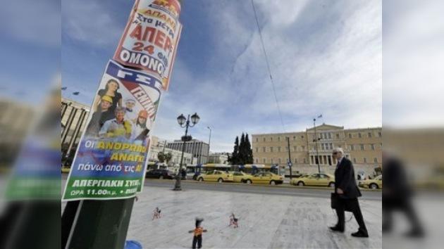Una huelga general de 24 horas paralizará Grecia