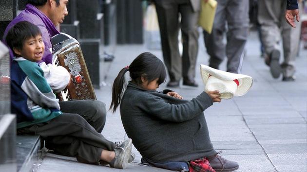 Más del 46% de la población mexicana vive en la pobreza