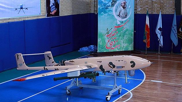 Irán revela su propio dron antiaéreo listo para la producción en serie