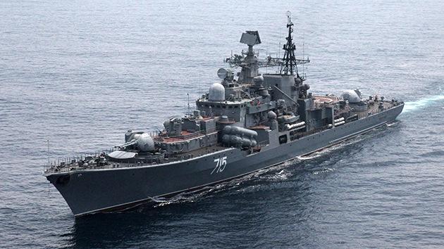 Los nuevos destructores rusos serán capaces de derribar satélites