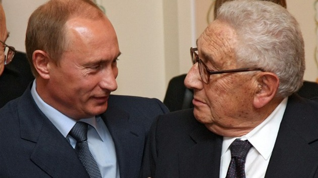 "Henry Kissinger: ""Putin no es Stalin"""