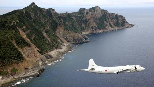 Cazas japoneses persiguen aviones militares chinos en el mar de la China Oriental