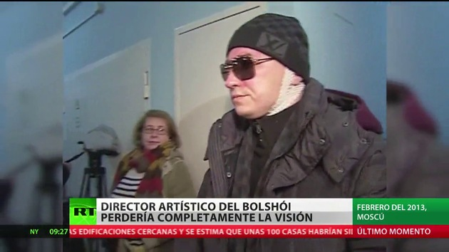 El director artístico del Bolshói está totalmente ciego, según su abogada