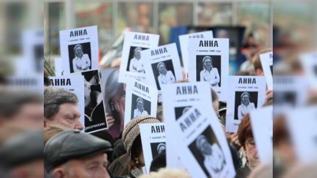 Los instructores están interrogando al sospechoso del asesinato de Anna Politkóvskaya