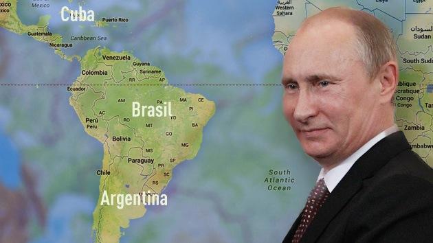 Vladímir Putin emprenderá una histórica gira por América Latina