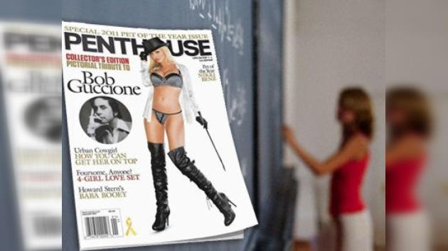 Expulsan del gremio de profesores a una modelo neozelandesa por aparecer en 'Penthouse'