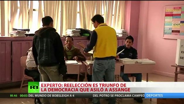 """""""El triunfo de Rafael Correa es el triunfo de la democracia ecuatoriana"""""""