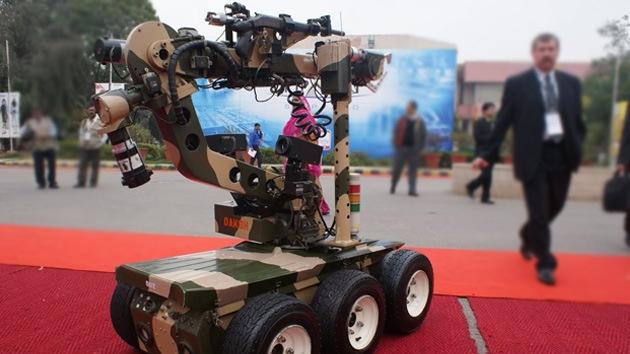 La India está desarrollando soldados robóticos