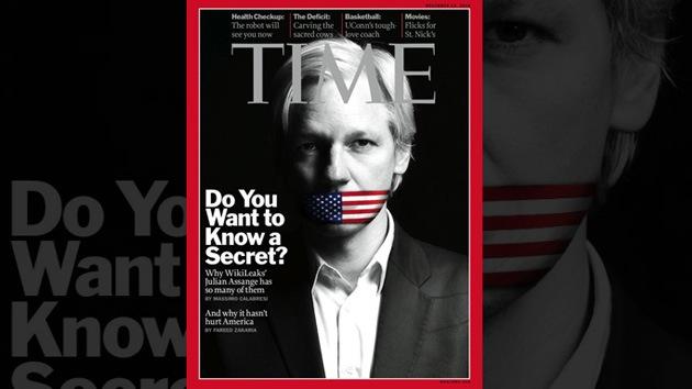 """Periodista de 'Time': """"No puedo esperar a escribir del drone que elimine a Assange"""""""