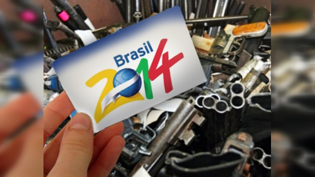 Brasil 2014: ¿demasiadas armas para cambiarlas por entradas del Mundial?