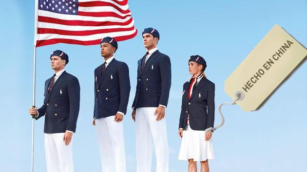 Escándalo en EE.UU.: el equipo olímpico vestirá uniformes hechos en China