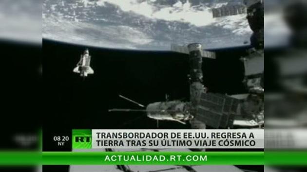 El Discovery se desacopla de la EEI para regresar a la Tierra
