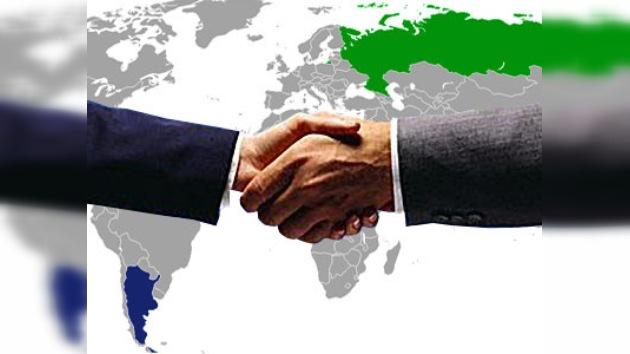 Rusia y Argentina aumentan sus lazos comerciales