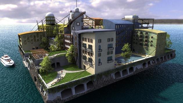 Ciudades flotantes del futuro: nueva oferta para los pioneros libertarios adinerados