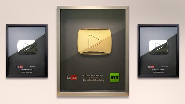 YouTube otorga un prestigioso premio a RT