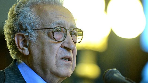 Lajdar Brahimi teme que Siria tenga el destino de Somalia