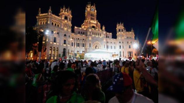 'Duelo de consignas' entre católicos y laicos en Madrid