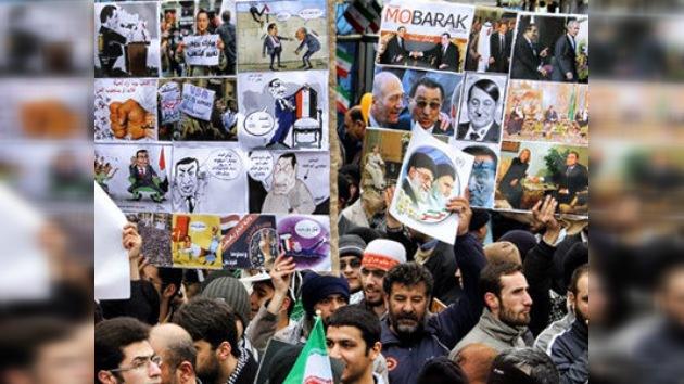 Policía iraní usó el gas lacrimógeno para dispersar alzamiento en Teherán