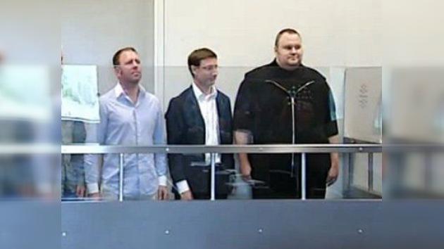 Libertad condicional para el fundador de Megaupload