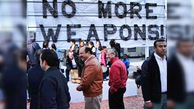"""México dice """"¡No más armas!"""" a EE. UU."""