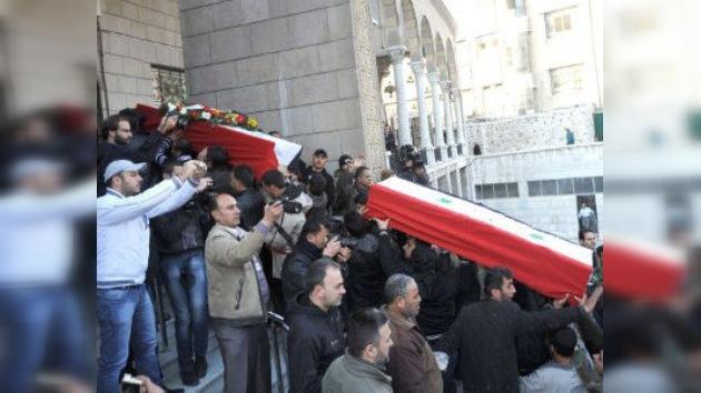La violencia consume Siria, pese al llamamiento de la Liga Árabe
