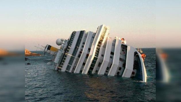 Un crucero con 4.200 pasajeros se hunde en las costas de Italia