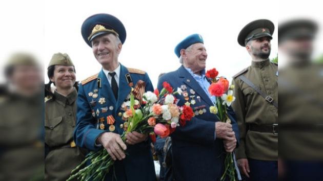 Las ciudades rusas se preparan para festejar el Día de la Victoria