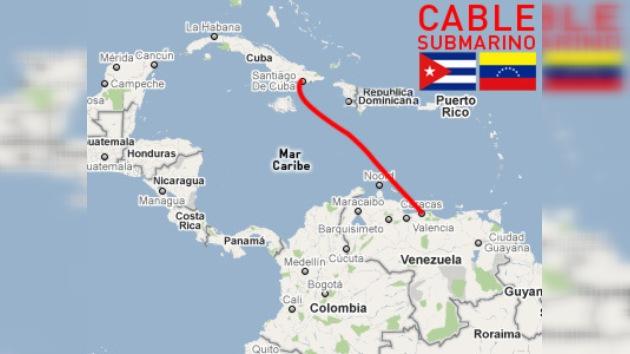 Empieza el tendido de cable submarino para internet de Venezuela a Cuba