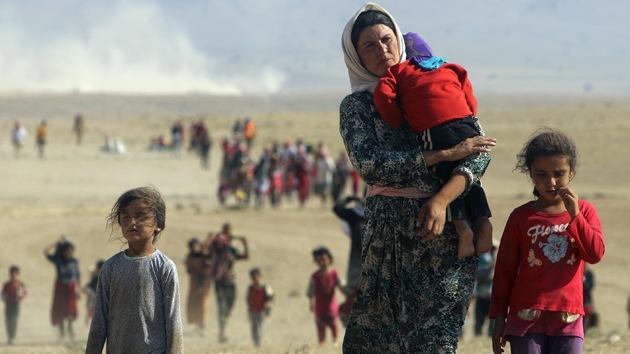 Las niñas yazidíes violadas por militantes de Estado Islámico se suicidan en masa