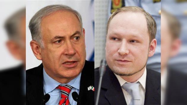 Manías en común del primer ministro israelí y el 'asesino de Oslo'