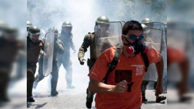 Una nueva marcha de estudiantes chilenos cierra el año de movilizaciones