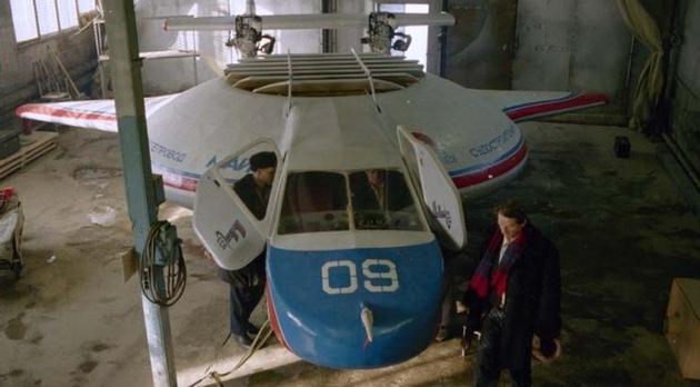 BARS, el vehículo aéreo híbrido ruso que promete una nueva revolución