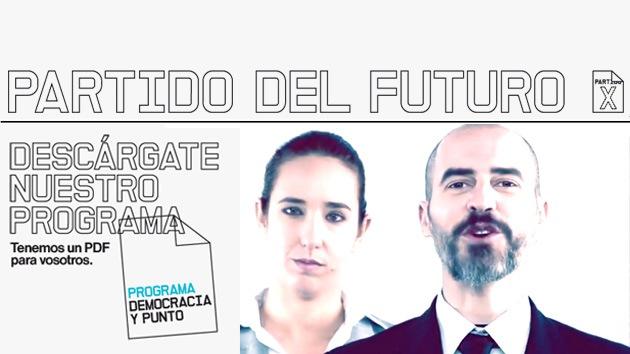El enigmático Partido X da la cara en España
