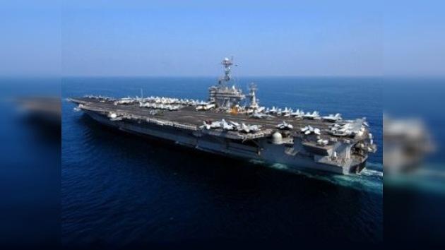 Irán detecta un portaaviones estadounidense en sus cercanías
