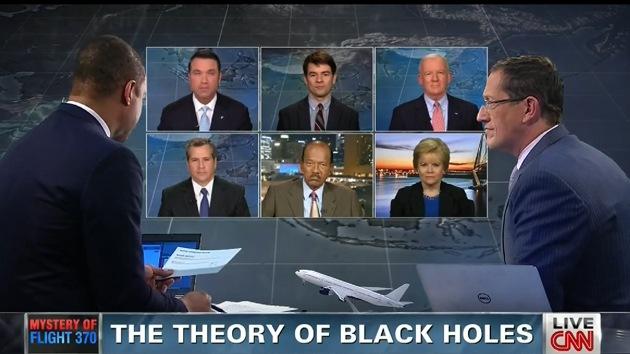 """""""¿Es absurdo pensar que un agujero negro provocó la desaparición del avión malasio?"""""""