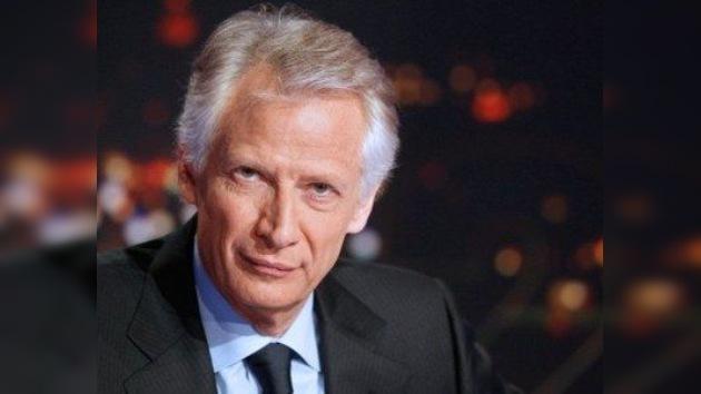 Villepin, viejo rival de Sarkozy, será candidato a las presidenciales francesas