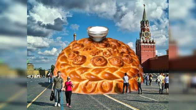 La gigantomanía durante las fiestas rusas se convierte en tradición