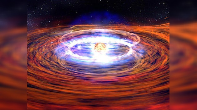 Confirman la teoría de la explosión de una estrella de neutrones