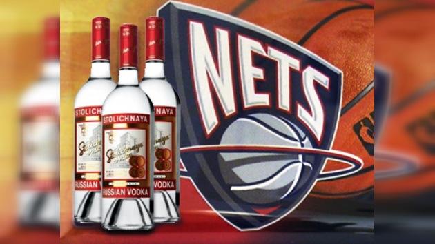 Stolichnaya es el vodka oficial de los New Jersey Nets