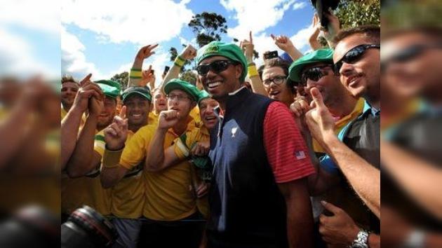 Tiger Woods decide el triunfo de Estados Unidos en la Copa Presidentes