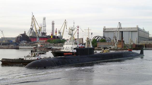El submarino nuclear ruso Yuri Dolgoruki entrará en servicio operacional en 2014