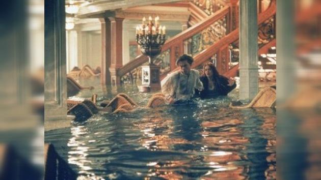 Muestra de las antigüedades rescatadas de Titanic