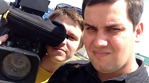 Dos periodistas rusos son heridos durante un bombardeo en Ucrania